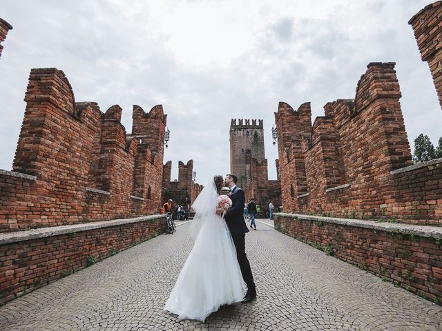 Il matrimonio di Elia e Georgiana a Verona, Verona 6