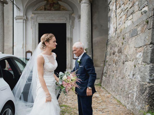 Il matrimonio di Davide e Glenda a Quarna Sopra, Verbania 23