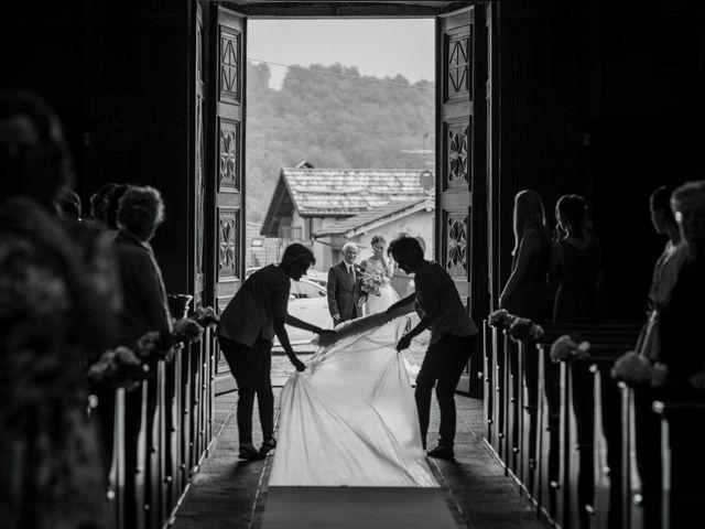 Il matrimonio di Davide e Glenda a Quarna Sopra, Verbania 26
