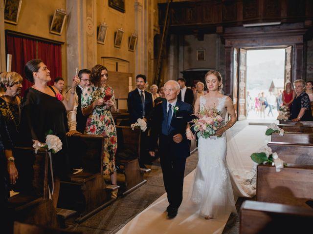 Il matrimonio di Davide e Glenda a Quarna Sopra, Verbania 29