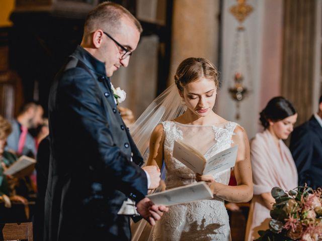 Il matrimonio di Davide e Glenda a Quarna Sopra, Verbania 33