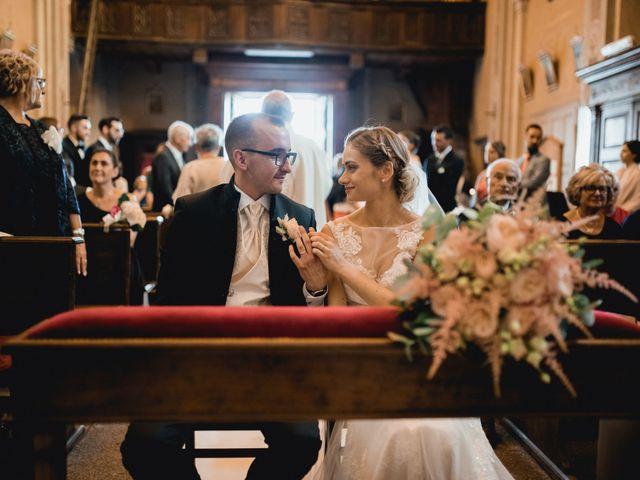 Il matrimonio di Davide e Glenda a Quarna Sopra, Verbania 35