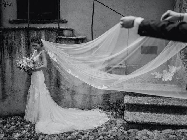 Il matrimonio di Davide e Glenda a Quarna Sopra, Verbania 46