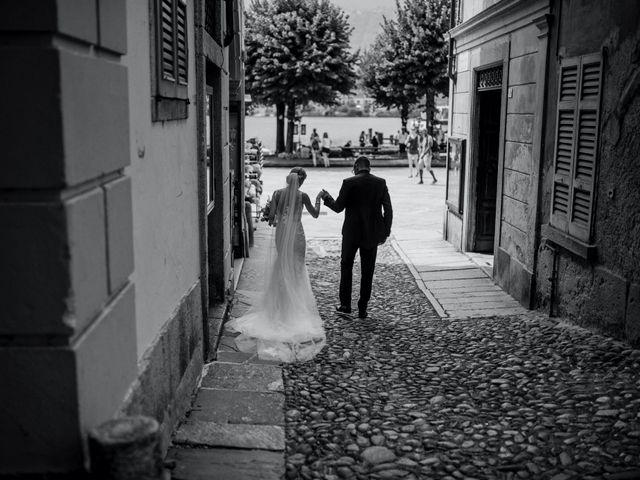 Il matrimonio di Davide e Glenda a Quarna Sopra, Verbania 48