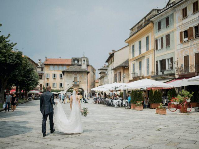 Il matrimonio di Davide e Glenda a Quarna Sopra, Verbania 51