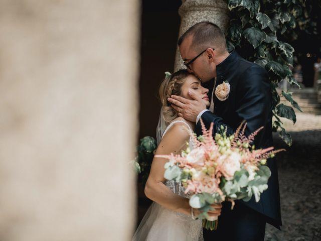Il matrimonio di Davide e Glenda a Quarna Sopra, Verbania 52
