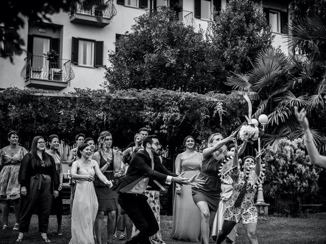 Il matrimonio di Davide e Glenda a Quarna Sopra, Verbania 77