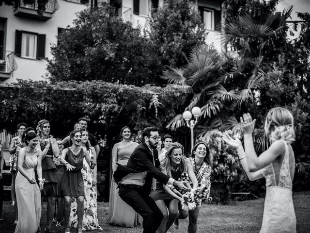 Il matrimonio di Davide e Glenda a Quarna Sopra, Verbania 78