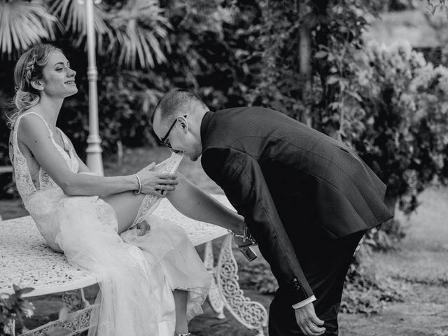 Il matrimonio di Davide e Glenda a Quarna Sopra, Verbania 80