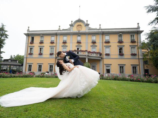 Il matrimonio di Luca e Alice a Giussano, Monza e Brianza 19