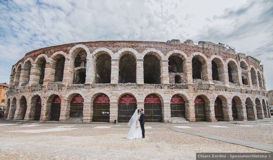 Il matrimonio di Elia e Georgiana a Verona, Verona