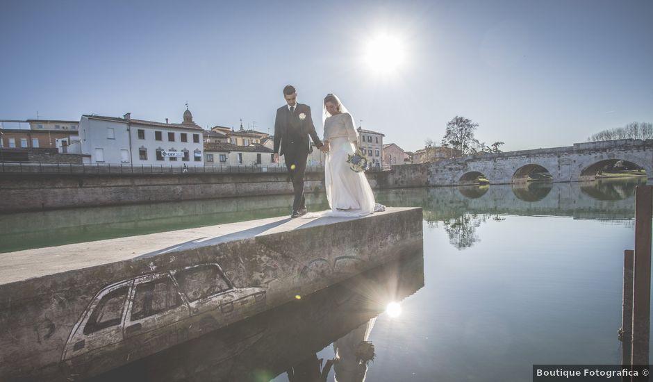 Il matrimonio di Giacomo e Eleonora a Rimini, Rimini