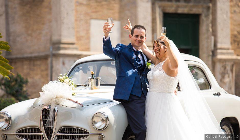 Il matrimonio di Sergio e Serena a Lido di Ostia, Roma