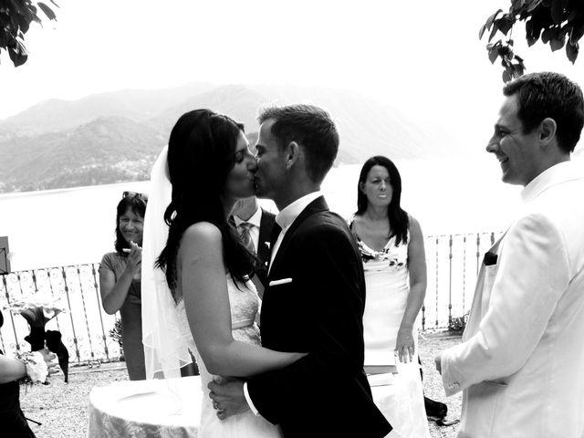 Il matrimonio di Richard e Felicity a Lenno, Como 7