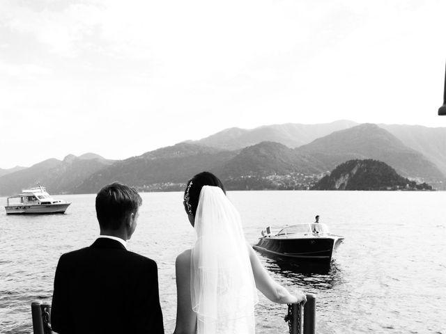 Il matrimonio di Richard e Felicity a Lenno, Como 8