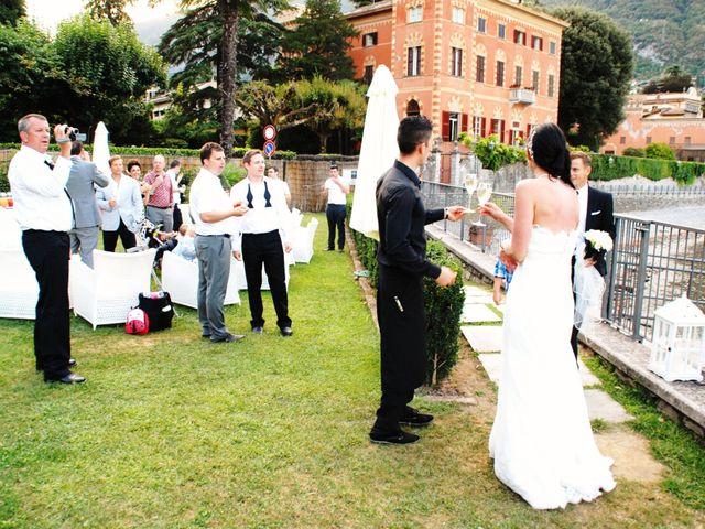 Il matrimonio di Richard e Felicity a Lenno, Como 2