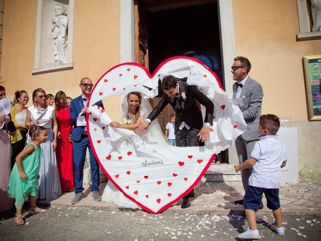 Il matrimonio di Alessio e Veronica a Terricciola, Pisa 21