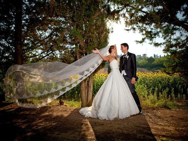 Il matrimonio di Alessio e Veronica a Terricciola, Pisa 1