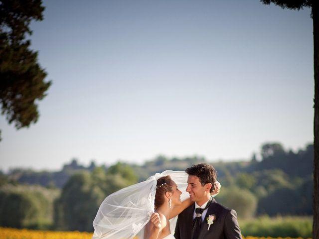 Il matrimonio di Alessio e Veronica a Terricciola, Pisa 24