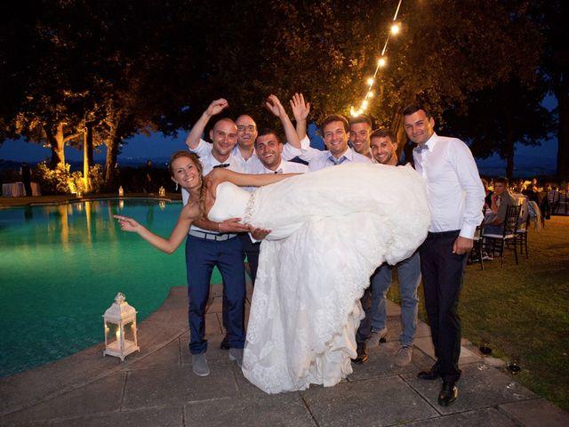 Il matrimonio di Alessio e Veronica a Terricciola, Pisa 40