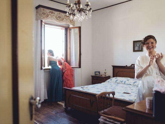 Il matrimonio di Nicola e Elisabetta a Sanguinetto, Verona 15