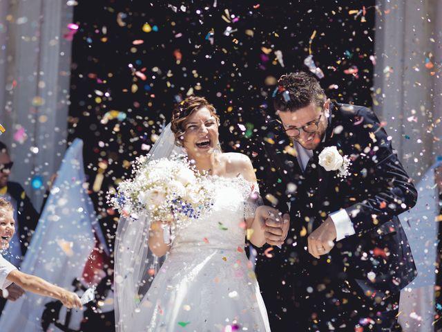 Il matrimonio di Nicola e Elisabetta a Sanguinetto, Verona 56