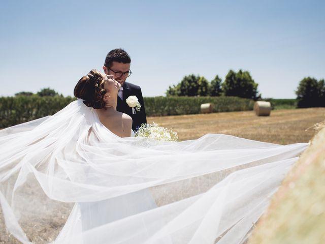 Il matrimonio di Nicola e Elisabetta a Sanguinetto, Verona 65