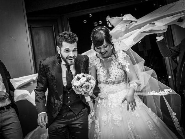 le nozze di Lucia Torriani e Luca Marconi