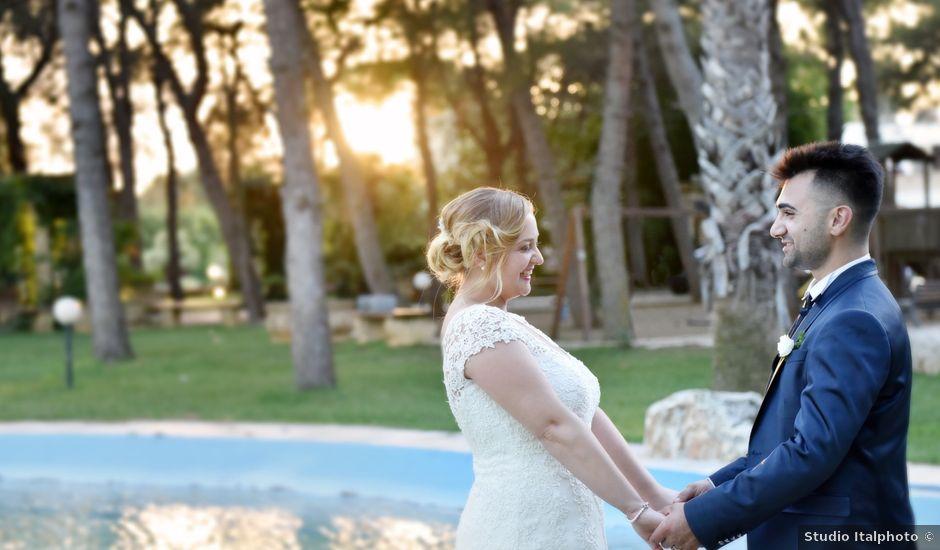 Il matrimonio di Cotrino e Federica a Latiano, Brindisi