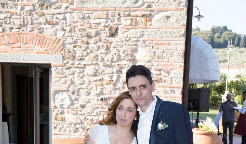 Il matrimonio di Marcoe e Alessandra a Prato, Prato