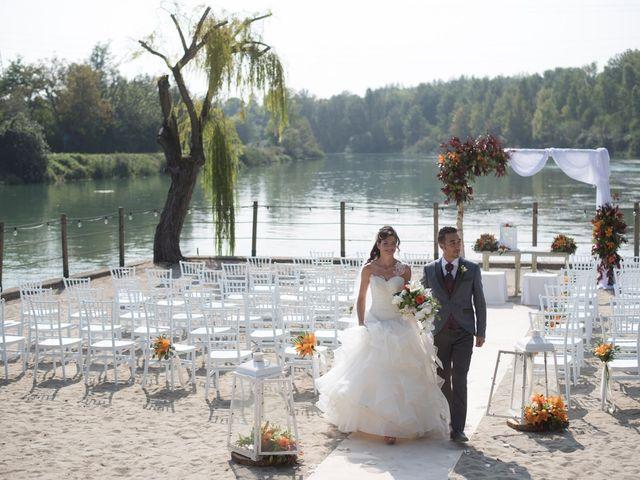 Il matrimonio di Nicola e Giada a Volta Mantovana, Mantova 35