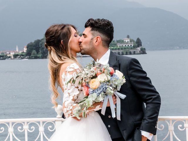 Il matrimonio di Oscar e Sofia a Stresa, Verbania 61