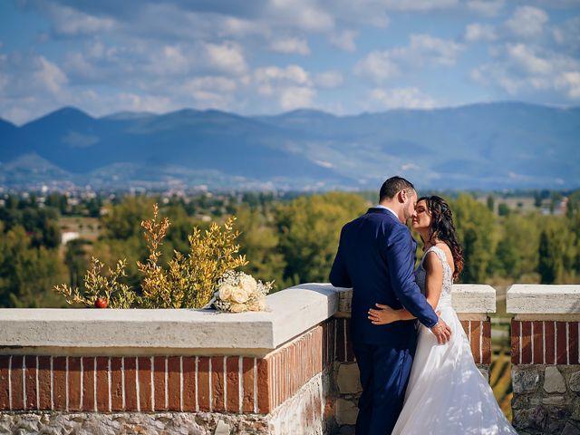Il matrimonio di Irene e Mirko a Bevagna, Perugia 86