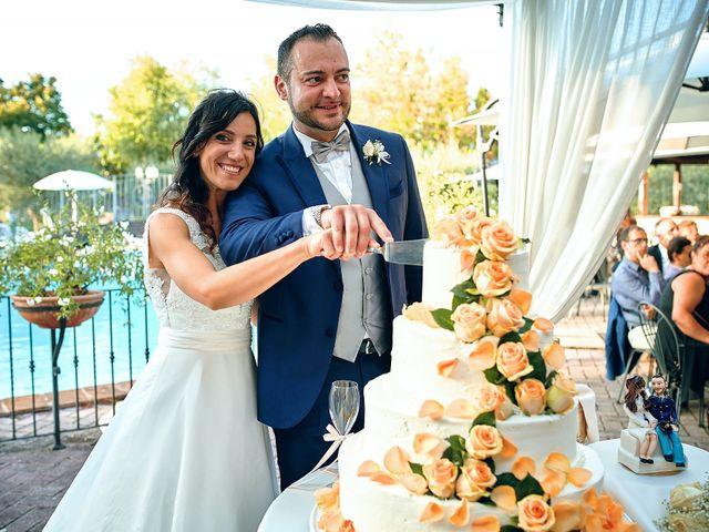 Il matrimonio di Irene e Mirko a Bevagna, Perugia 95