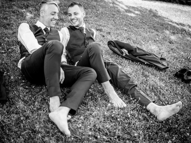 Il matrimonio di Cris e Tom a Giavera del Montello, Treviso 18