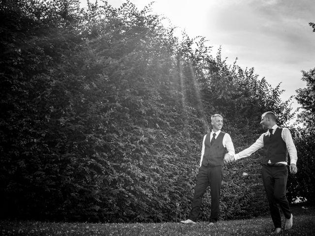 Il matrimonio di Cris e Tom a Giavera del Montello, Treviso 19
