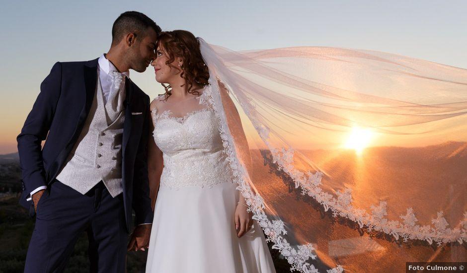 Il matrimonio di Riccardo e Mariangela a Sommatino, Caltanissetta