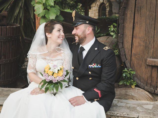 le nozze di Sylvia e Mauro