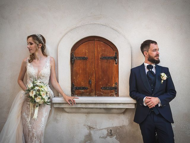 Le nozze di Sarah e Michele