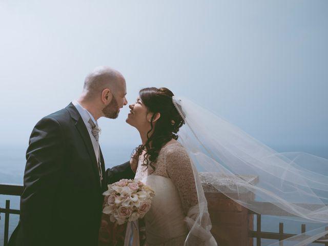 Il matrimonio di Vincenzo e Romina a Vico Equense, Napoli 11