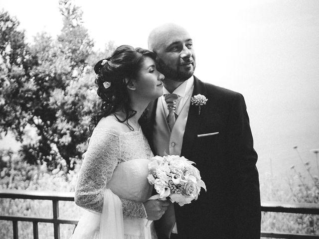 Il matrimonio di Vincenzo e Romina a Vico Equense, Napoli 12