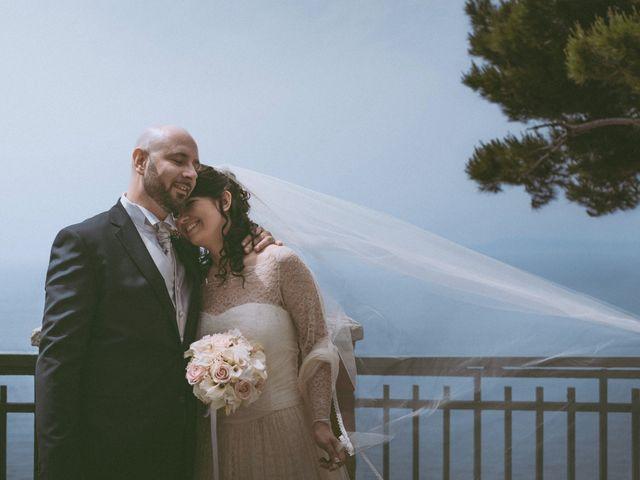Il matrimonio di Vincenzo e Romina a Vico Equense, Napoli 13