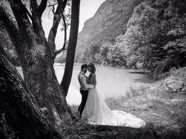 le nozze di Tania e Francesco
