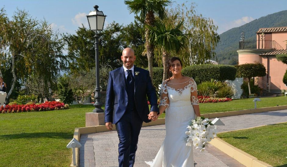 Il matrimonio di Lorenzo e Maria a Poggiomarino, Napoli