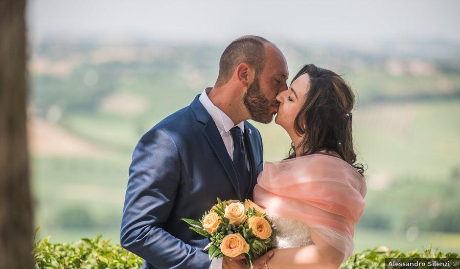 Il matrimonio di Francesco e Tiziana a Montefano, Macerata