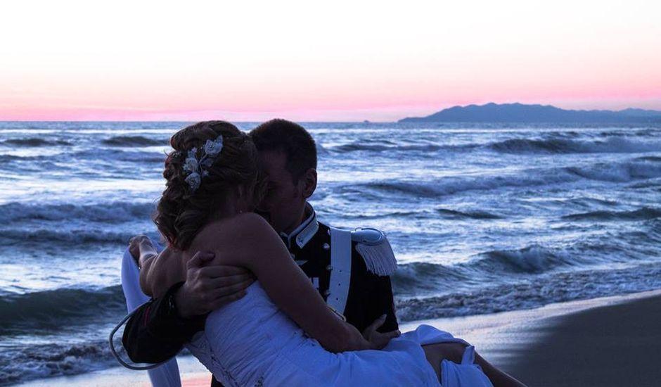 Il matrimonio di Elena e Sebastiano a Viareggio, Lucca