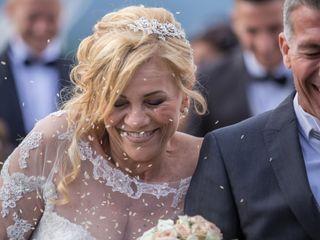 Le nozze di Letizia e Rolando