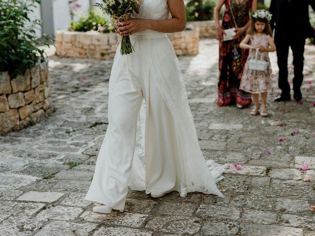 Il matrimonio di Dwayne e Federica a Noci, Bari 23
