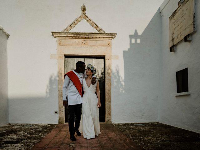 Il matrimonio di Dwayne e Federica a Noci, Bari 44