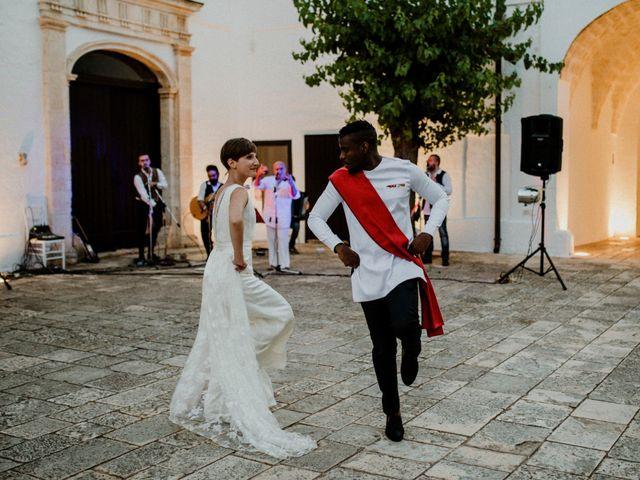 Il matrimonio di Dwayne e Federica a Noci, Bari 51
